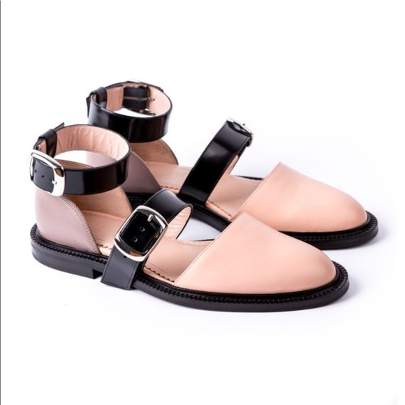 Inch2 Shoes | Flat Nude Sandals | Poshmark